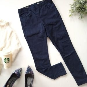 J. Crew • Dannie navy stretch twill skinny pants